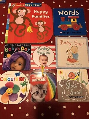 Baby Book Bundle X 8 Items - Picture Board Books