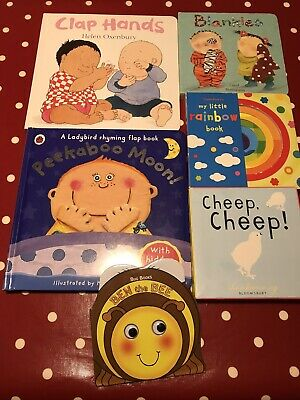 Baby/Toddler Book Bundle X6 Items - Board Books/Picture Books/First Readers