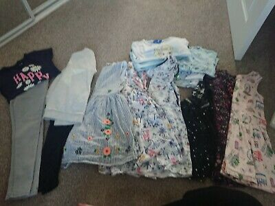 Girls Bundle Of Clothes 6-7 Years Next, Cath Kidston, M&S and more