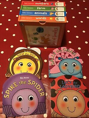Baby Book Bundle X8 Items - Picture Books & Rhyming Tales