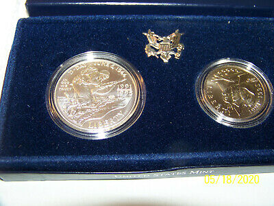 1991-1995 WORLD WAR II 50th ANNIVERSARY US $1 SILVER & 1/2 DOLLAR SPECIAL COINS