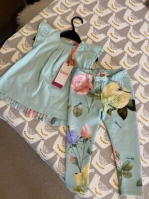 Baker by Ted Baker Girls 2 Piece Outfit 18-24 Months BNWT