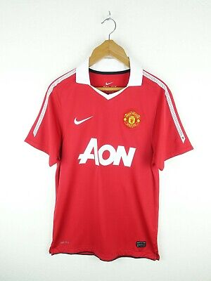 Manchester United 2010 Home Football Shirt Trikot Nike Size Small (S322)