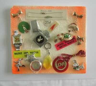 VINTAGE 1970s GUMBALL VENDING 25 CENT DISPLAY/HEADER CARD PLAYBOY ROY ROGERS