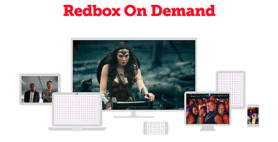 Redbox on demand (ondemand) 1 Digital Rental Code, up to $5.99 movie, watch home