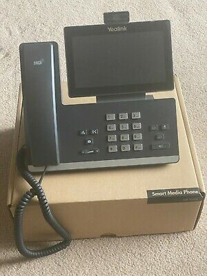 Yealink SIP-T58A Media Phone WITH Camera Microsoft Skype for Business / Teams