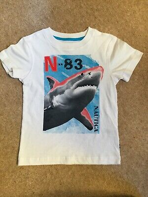 Brand New Younger Boys Nautica Shark T Shirt