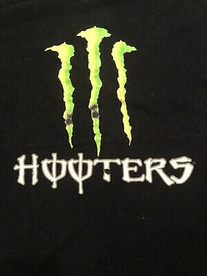 HOOTERS COLLECTIBLE RARE T-Shirt (used) Large Men's
