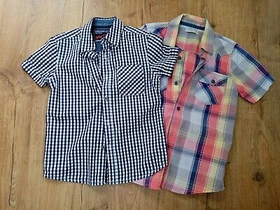 Boys Marks And Spencer/ Next Shirts Age 7