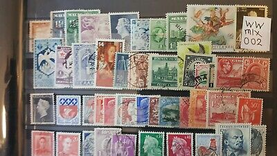 Worldwide Sorter Mix Interesting Selection  Of Un-Checked Used Stamps (002)