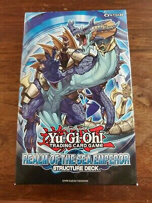 Yugioh Realm of the Sea Emperor Structure Deck English 1st Edition