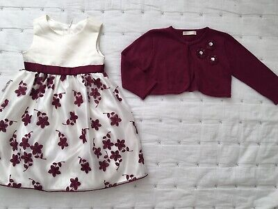 cinderella dress And Cardigan Outfit 2-3 Years