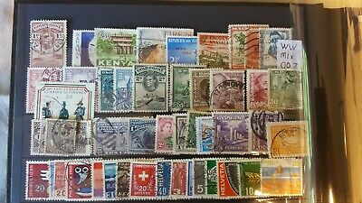 Worldwide Sorter Mix Attractive Selection  Of Un-Checked Used Stamps (007)