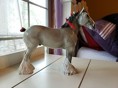 Black Horse Ranch Model Horse Resin Clydesdale