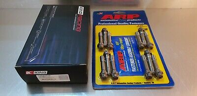 KING RACE Big End / Con Rod Bearings BMW E46 M3 3.2 S54B32 + M10 x 45 ARP Bolts