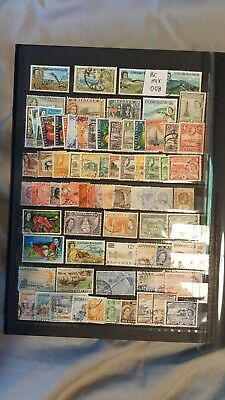 British Commonwealth Sorter Mix Attractive Selection  Of Used Stamps (Bc008)