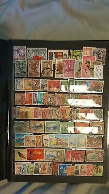British Commonwealth Sorter Mix Attractive Selection  Of Used Stamps (Bc011)
