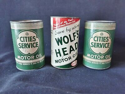 Cities Service Motor Oil Banks, Wolf's Head Bank Sign