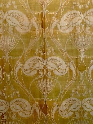 Antique Art Nouveau Tapestry- Reversible - Purchased In Paris- Good Condition