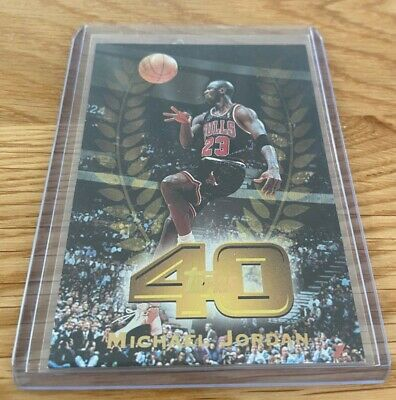 🔥 1997-98 Topps 40 Michael Jordan #T40-5 The Last Dance Chicago Bulls🔥