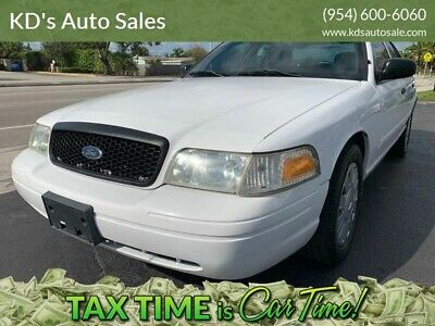 2009 Ford Crown Victoria Police Interceptor 4dr Sedan (3.27 Axle) 2009 Ford Crown Victoria Police Interceptor Florida Owned City Maintained WOW!
