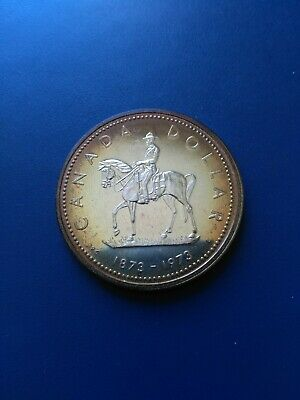 1973 Canadian Silver Dollar ($1), No Reserve!