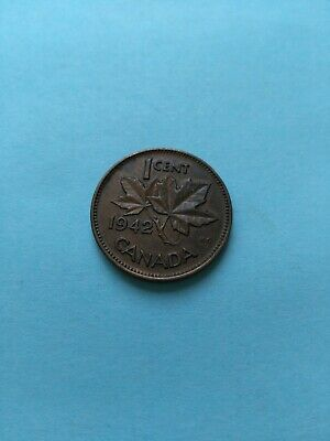 1942 Collectable Grade Canadian Small Penny (1c), No Reserve!