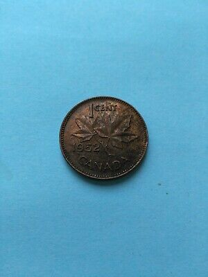 1952 Collectable Grade Canadian Small Penny (1c), No Reserve!