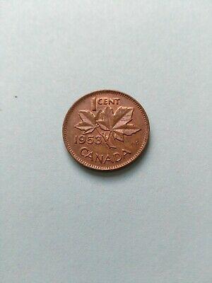 1953 Collectable Grade Canadian Small Penny (1c), No Reserve!