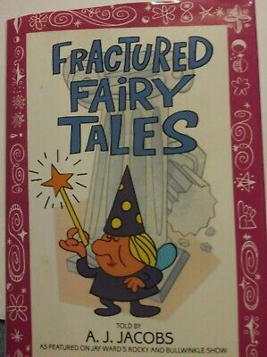 Book Fractured Fairy Tales Rocky Bullwinkle Show ISBN 0553099809