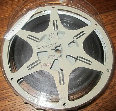 1964 NEW YORKS WORLDS FAIR HOME MOVIE  FILM [8mm?] & REEL