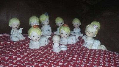 10 Small Baby Like Figurines With Cute Faces