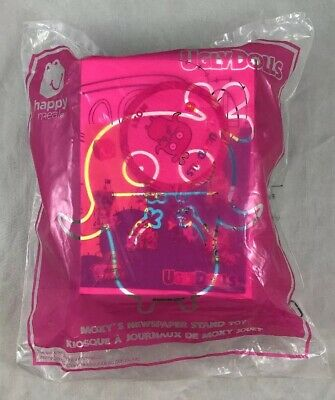 Uglydolls Moxy's Newspaper Stand Toy Happy Meal McDonalds Canada 2019 Ugly Doll