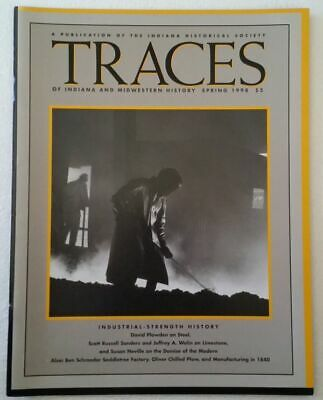 Traces of Indiana and Midwestern History – 1998 - Manufacturing in 1840 ~3107