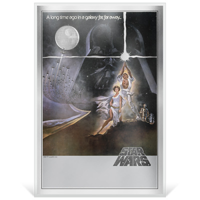 Star Wars: A New Hope - Premium 35g Silver Foil Collectible - Only 10,000 minted