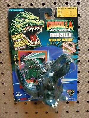 1994 RARE Godzilla King of the Monsters Godzilla WIND-UP Action Figure! NOS