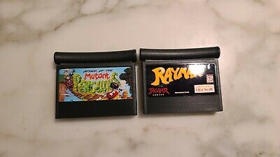 Attack Of The Mutant Penguins and Rayman for Atari Jaguar