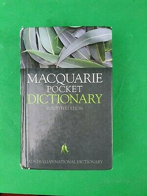 Macquarie Pocket Dictionary ( Fourth Edition)