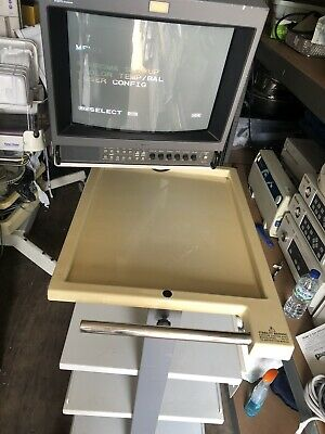 HR Trinitron Monitor On Olympus trolley
