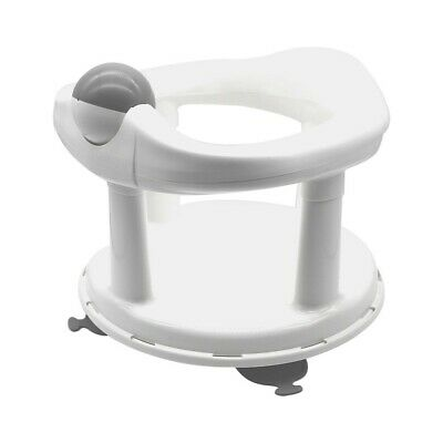 Bath Safety 1st Swivel Seat Primary Baby Support Pure White