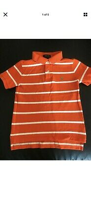 Ralph Lauren Striped Polo Size S Age 8