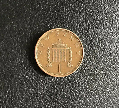 1971  New Penny Coin Original Old Coin 1p Circulated *VERY RARE*