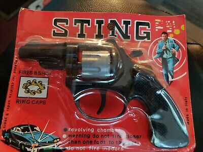 "Vintage ""Sting"" Toy Gun  Made in Romanelli Rome Italy Vintage"