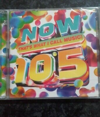 Now That's What I Call Music 105 ** Brand New/Sealed **