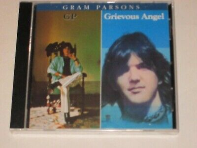 Gram Parsons - GP / Grievous Angel CD NEW SEALED Free Ship in US 2 LP on 1 CD