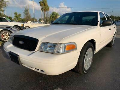 2009 Ford Crown Victoria Police Interceptor 4dr Sedan (3.27 Axle) 2009 Ford Crown Victoria Police Interceptor Well Maintained Flroida Owned 1Owner
