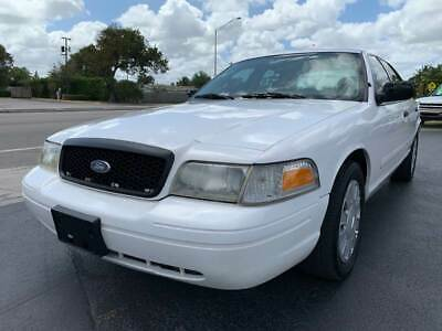 2007 Ford Crown Victoria Police Interceptor 4dr Sedan (3.27 Axle) 2007 Ford Crown Victoria Police Interceptor One Owner Drives Great Florida Owned