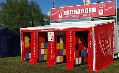 Business Opportunity. - Festival phone charging / locker hire trailer