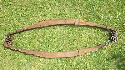 Willys Jeep MB GPW ww2 pair Front 8 leaf road Springs