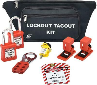 Globalite Safety - Lock Out Tag Out Safety Kit - New - Fast Delivery